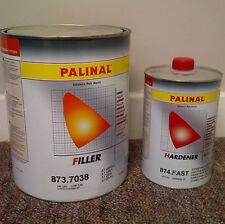 3Ltr Palinal Primer 873.7038 + 1Ltr Palinal 874 Fast Hardener / Grey Primer