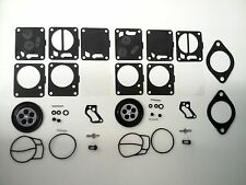 Aftermarket Sea Doo 650 657 720 717 787 800 carb rebuild kit with base gaskets