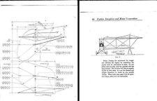 CURTISS JN-4 JENNY MANUALS RARE 1917 WW1 PERIOD biplane details historic archive