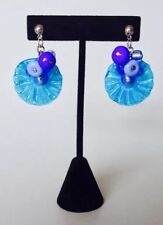 Antica Murrina Encanto-Murano Glass Flower Bead Earrings