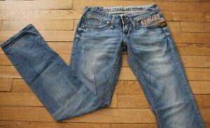 G-STAR Jeans pour Femme W 26 - L 34 Taille Fr 36 CORE STRAIGHT  (Réf #O188)