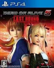 Used PS4 DEAD OR ALIVE 5 Last Round SONY PLAYSTATION 4  JAPANESE  IMPORT