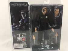 "Terminator 2 T-1000 Steel Mill 7"" Action Figure 20th Anniversary NECA Toys"