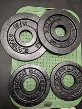 Standard Olympic change plates weight set 2.5 lbs and 5 lbs