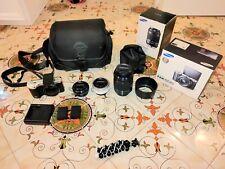 Fotocamera Mirrorless Samsung NX500 + OBIETTIVI 16-50mm 50-200mm 30mm ACCESSORI