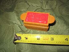 Fisher Price little people Barn Zoo Crate Food red leaves fruit grains Part Toy