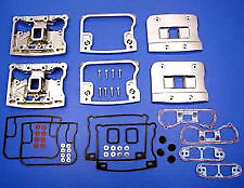 Chrome Rocker Boxes valve Covers Set 92-99 Harley Evo Motor Engine  FL FXST FLST
