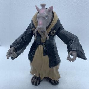 "2014 TMNT Movie Splinter the Rat Black Robe 4.5""Action Figure - Turtles"