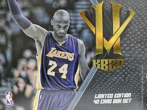 LIMITED EDITION 2015-2016 Kobe Bryant Panini Anthology (Unleash the Herd)
