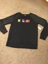 Girls Grey Top Age 12/13 Brand New With Tags Stunning