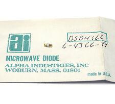 Alpha Industries HF Diode DSB 4366 / 6-4366-99, Mikrowellen-Diode, NOS