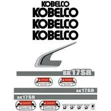 Kobelco SK17SR-3 Decals Stickers New Repro Decal Kit Kobelco SK17SR