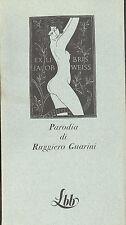 Ruggero Guarini: Parodia La Biblioteca Blu FMR  1973