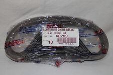 """Sait Sand Paper Belt 1"""" x 21"""" 100 GRIT 10pc  Aluminum Oxide 1AX Sandpaper Wood"""