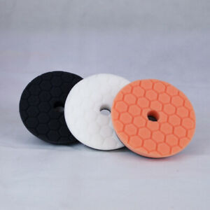 Chemical Guys 5 inch Hex Logic Quantum Pads Medium Paint Kit - Polishing Pads