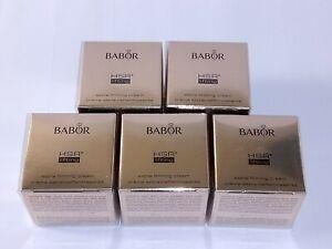 BABOR HSR Lifting Extra Firming Cream 5x Tiegel Luxusproben