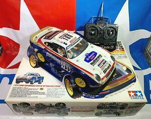 Ready to Run Vintage Tamiya 1986 1/12 Porsche 959 Paris-Dakar Rally 58059