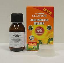 """Celaflor """"Rasen-Unkrautfrei Weedex"""" 100 ml Flasche, für wurzeltiefe Behandlung"""