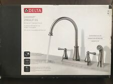 Delta Lewiston 21902LF-SS Brilliance Stainless Finish Kitchen Faucet New!!!