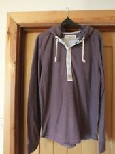 Mens mulberry coloured hoodie style top by Next.  Size M.