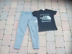 THE NORTH FACE Joggers/T-Shirt S Age 7-8 Boys