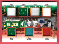 2019-20 Robinson-Shutt-Savard-Smith-Meloche Leaf In The Game Used Relic 2/25
