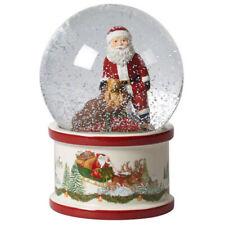 Villeroy & Boch Christmas Toy's Santa on Roof Large Snow Globe
