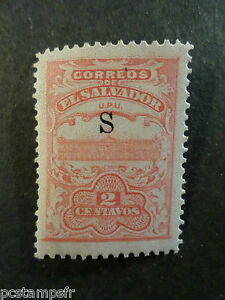EL SALVADOR, timbre CLASSIQUE 377A, neuf*, PALAIS, MH CLASSIC STAMP