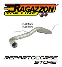 RAGAZZON SCARICO TERMINALE TONDO 90MM BMW SERIE 1 F20 F21 118d xd 110kW 150CV