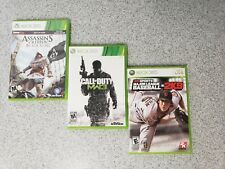 Xbox 360 Games - Assassins Creed IV:Black Flag/Call of Duty MW3/MLB2K9 w/Booklet