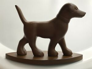 BEAUTIFUL ANTIQUE BAKELITE DOG FIGURINE SIMICHROME TESTED 1920's MADE IN GERMANY