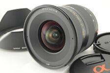 *NEAR MINT* Sony DT 11-18mm f/4.5-5.6 SAL1118 w/ Hood from Japan #5373
