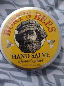 Burt's Bees Farmer's Friend Hand Salve 3 oz All Purpose, Soften