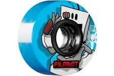 Bones ATF Filmbot FILMER II Skateboard Wheels 56mm BLUE