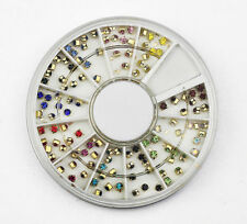3D NAIL ART RHINESTONE WHEEL #249 nail art crystal craft cream pearl gems