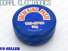 Rosin Soldering Flux Paste Grease 30g 30 Gram Usa Seller Free Shipping Solder