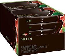 Five Sugar Free Gum, Prism Watermelon, 15 Piece Pack (10 Count)
