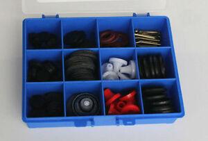 Ball Valve Washer Plumbers Repair Box Kit 2 - Holdtite