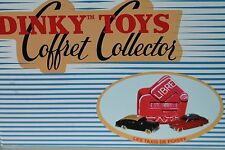 DINKY TOYS * COFFRET CELLECTOR * LES TAXIS DE POISSY FORD & SIMCA  * OVP *