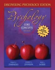 Psychology : Core Concepts by Anne L. Weber, Robert L. Johnson and Philip G....