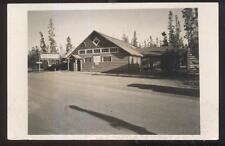 Rp Postcard Yellowstone Montana/Mt Rainbow Tabernacle Chapel/Church Invite 1950s