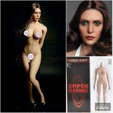 1/6 TBLeague Female 12in Figure Large Bust Body +  W/Scarlet Witch Head Sculpt