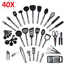 40 teiliges Küchenset, Küchenutensilien set, Küchenhelfer, Küchenbesteck set