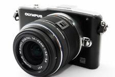 Olympus E-PM1 12.3MP 14-42mm Lens Kit Black [Exc+++] w/8GB SD Card,Strap [245]