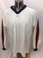 Nike V-Neck Shirt Jersey Men's X-Large XL Long Sleeve
