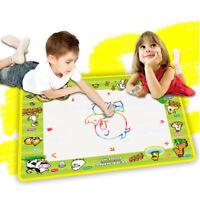 Water drawing mat with 2 drawing pen kid's magic water drawing play mat 50*36GJ