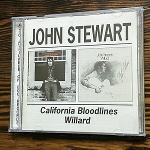 John Stewart: Willard / California Bloodlines (Beat Goes On BGOCD532) (2-CD Se..