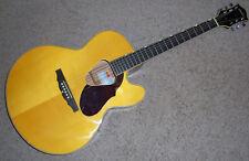 Gretsch Historic G3703 Sierra Jumbo Acoustic Electric Guitar Natural