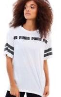Ladies Swagger Tee by PUMA, TShirt, Logo Shirt, White. Large XL Extra Extra Lge