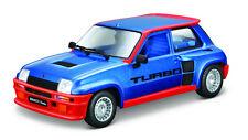Renault 5 Turbo blau Maßstab 1:24 von Bburago